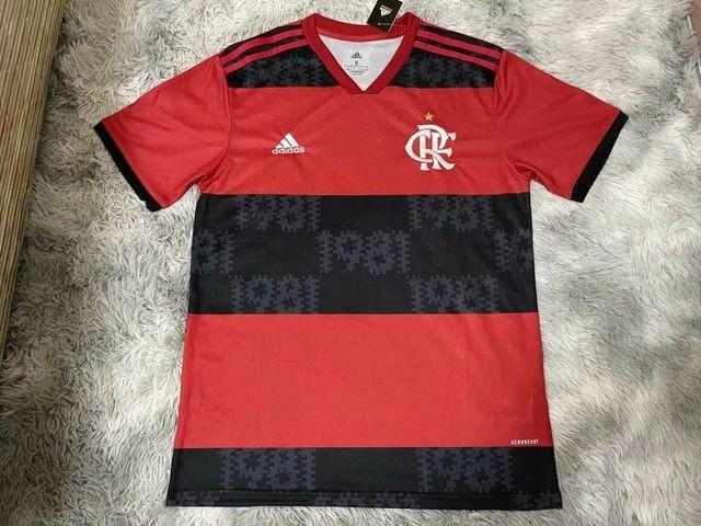 Camisa Flamengo Oficial Temporada 2021/2022  1.1