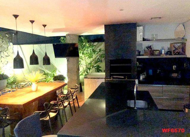 Jardins Ibiza, casa duplex Porteira Fechada, 4 quartos, 6 vagas, piscina, Eusébio - Foto 11