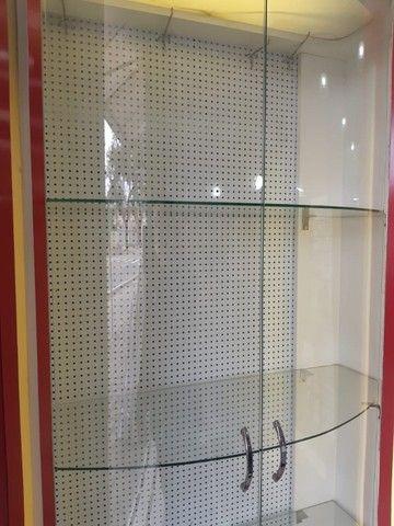 Expositor de Vidro Curvo com Iluminação 3 Prateleiras - Foto 3