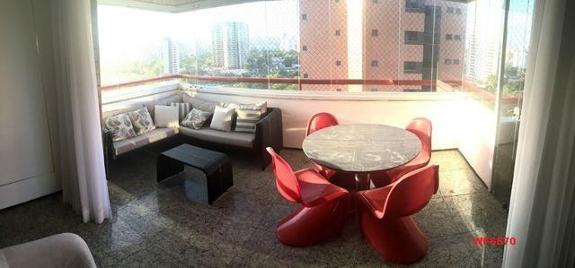 Turmalina, apartamento com 3 suítes, 4 vagas, projetado, próximo ao shopping Iguatemi, - Foto 4