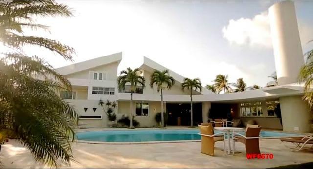 Mansão em Fortaleza, casa duplex nas Dunas, 4 suítes, gabinete, bairro de Lourdes