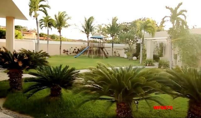 Mansão em Fortaleza, casa duplex nas Dunas, 4 suítes, gabinete, bairro de Lourdes - Foto 3