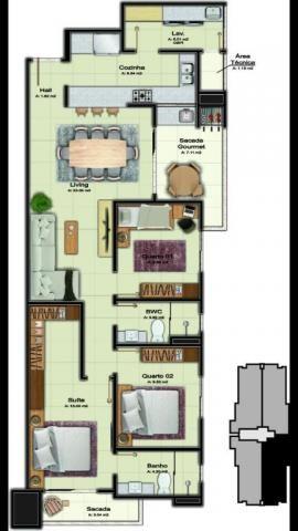 Apartamento com 2 dormitórios à venda, 106 m² por R$ 530.450 - Costa e Silva - Joinville/S - Foto 4