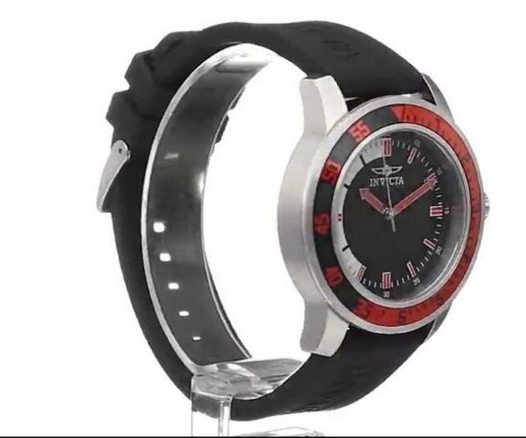 2e32e8e76fb Relógio Invicta 6x no cartão pulseira esportiva modelo 12845 Original