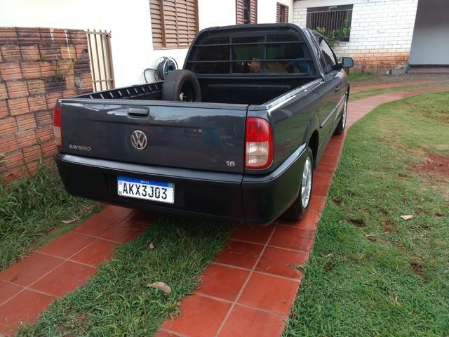 Saveiro 1.6 ap original a alcool pneus novos revisada inteira valor R$15.900 - Foto 3