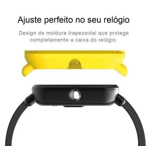 Capa Case Bumper Esportiva Para Proteção Xiaomi Huami Amazfit Bip Relógio Smartwatch - Foto 3