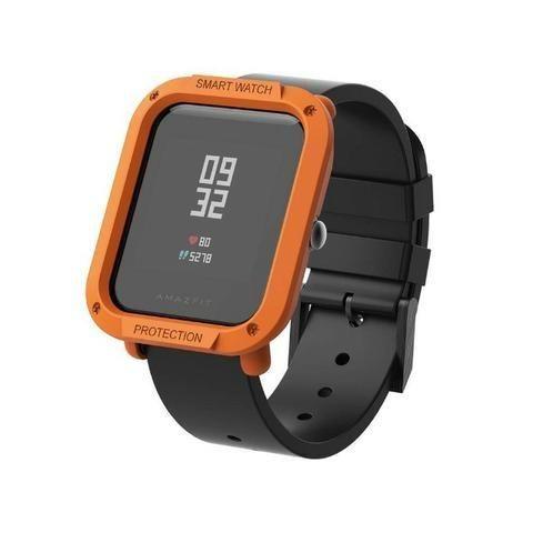 Capa Case Bumper Esportiva Para Proteção Xiaomi Huami Amazfit Bip Relógio Smartwatch - Foto 5