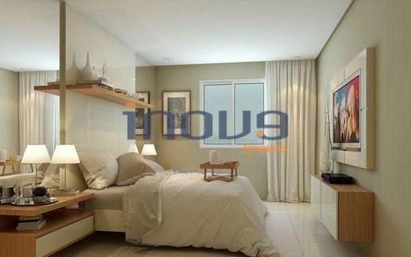 Apartamento à venda, 56 m² por R$ 302.683,73 - Jacarecanga - Fortaleza/CE - Foto 3