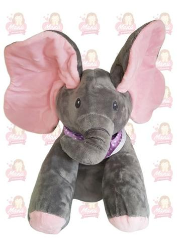 Elefante Abana a Orelha Canta Brinca