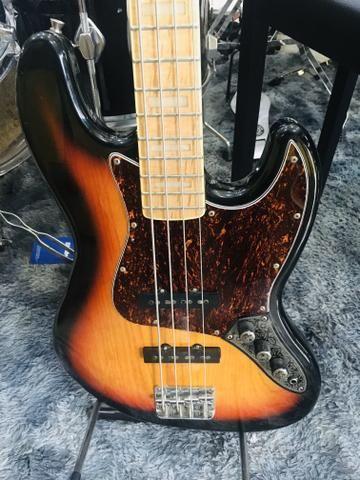 Baixo 4 Cordas Jazz Bass Series Sjb75 Sx Sunburst - Foto 2