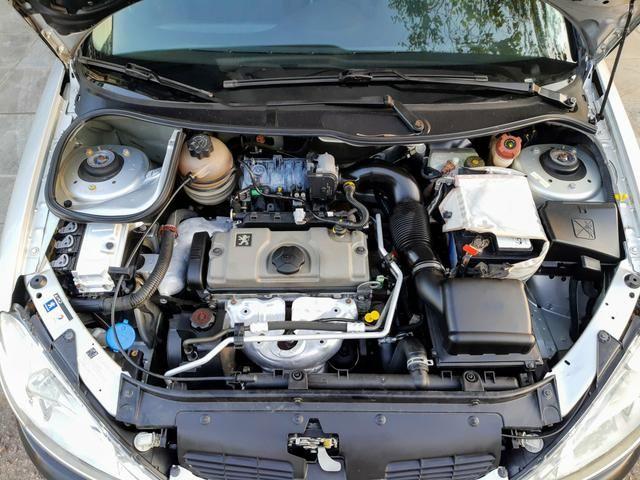 Peugeot 206 Pres 1.4 8 válvulas flex!! Completo ótimo estado!! - Foto 18