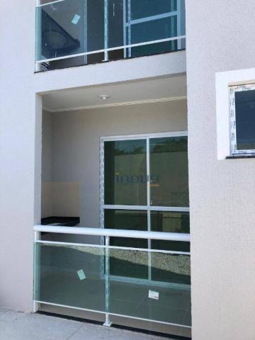 Apartamento com 2 dormitórios à venda, 54 m² por R$ 115.000,00 - Centro - Pacatuba/CE - Foto 3