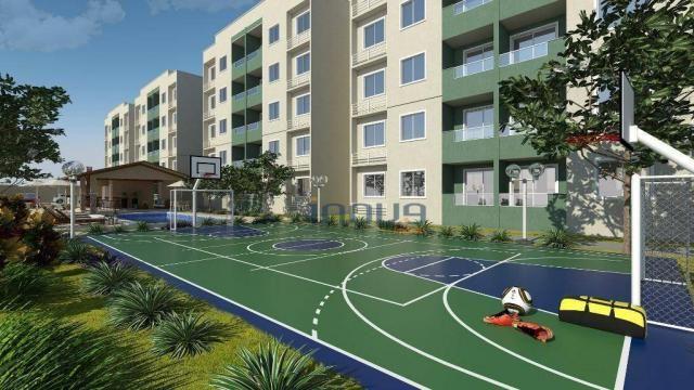 Reserva Natura - Apartamento com 2 dormitórios à venda, 55 m² por R$ 156.350 - Lagoa Redon - Foto 6
