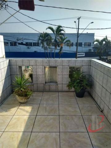 Casa sobrado com 3 quartos - Bairro Cidade Naútica em São Vicente