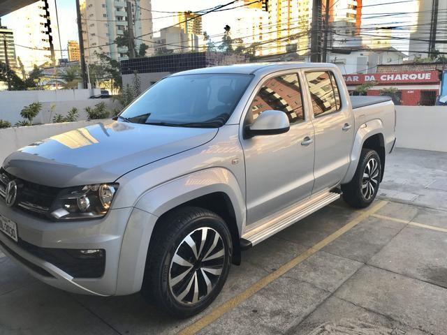 Amarok Trendline 2018 4x4 2.0 turbo diesel Aut (Único Dono)IPVA 2020 quitado - Foto 2