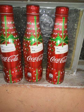 Garrafa coca cola série especial - Foto 2