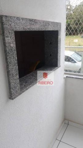 Apartamento com 2 dormitórios para alugar, 60 m² por R$ 770/mês - Urussanguinha - Ararangu - Foto 5