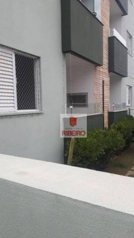 Apartamento com 2 dormitórios para alugar, 60 m² por R$ 770/mês - Urussanguinha - Ararangu - Foto 4