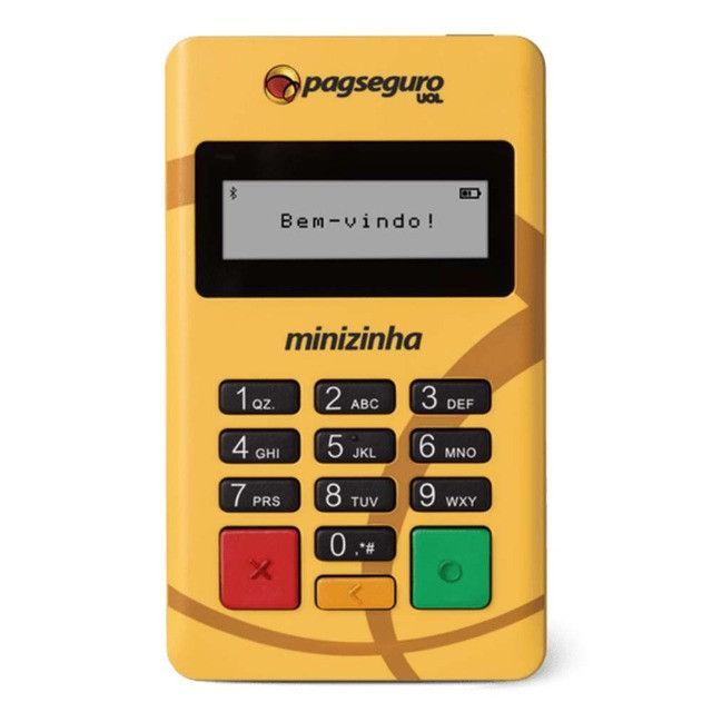 Minizinha PagSeguro Leitor de Cartão de Débito e Crédito Bluetooth - Foto 2