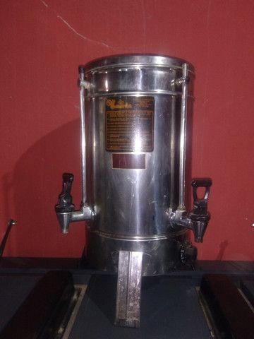 Cilindro de pastel profissional e cafeteira industrial 15 litros - Foto 6