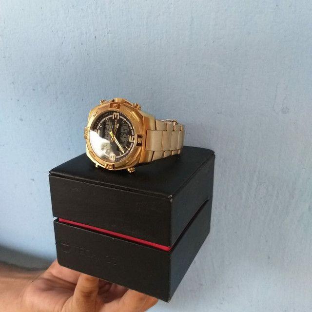 Relógio de ouro original da Technos. - Foto 4