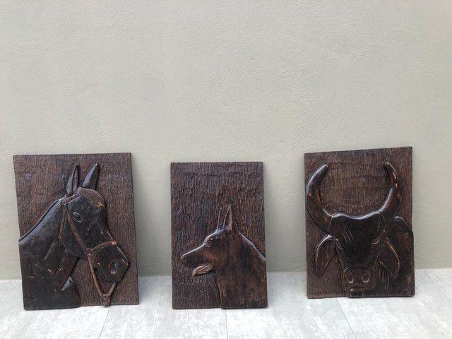 Quadros em madeira - Foto 2