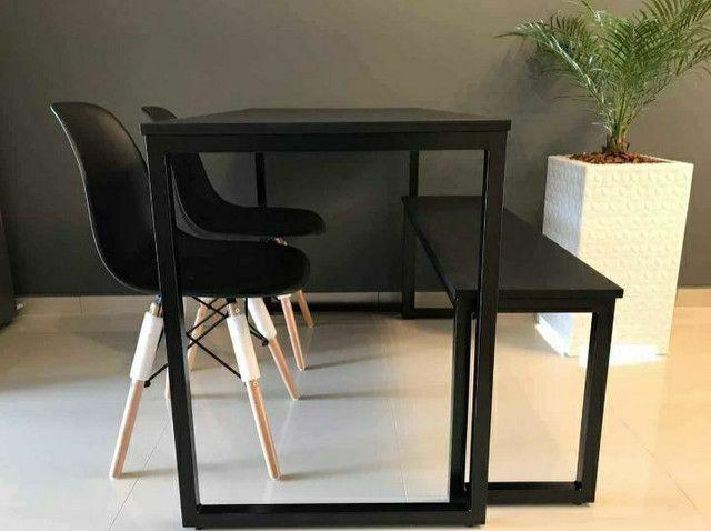 Mesas estilo industrial - Foto 3