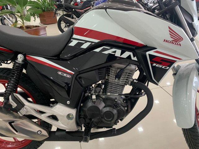 Honda ti'tan s entrada de 1000 reais leia - Foto 2