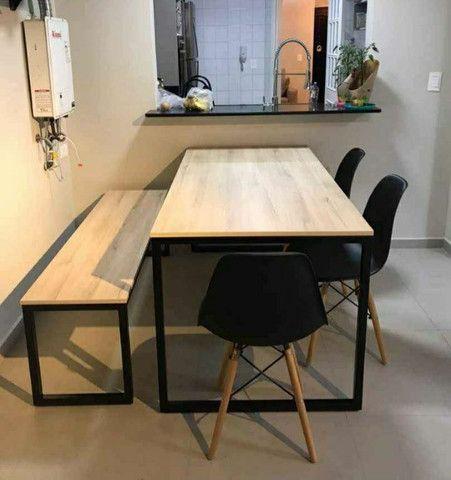 Mesas estilo industrial - Foto 2