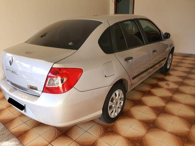 Renault Symbol Expression Hi-Flex, ano 2011, prata, 1.6, 8V, 4 portas. - Foto 16