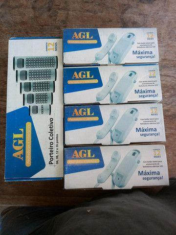 Porteiro eletrônico 4 pontos AGL com os monofones - Foto 4