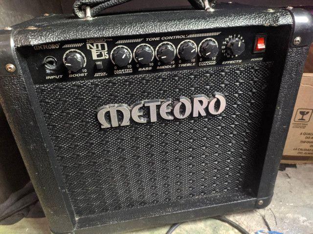 Amplificador meteoro nde15  - Foto 2