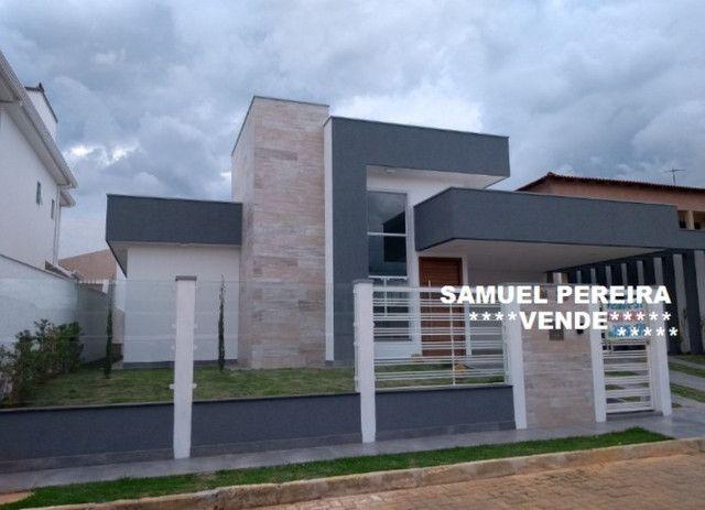 Samuel Pereira oferece: Casa Nova RK Centauros Sobradinho Piscina Churrasqueira 3 suítes - Foto 4