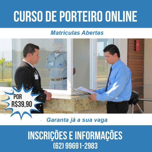 Curso Online de Porteiro por 39,90