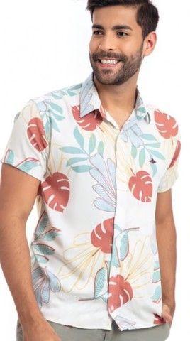 Camisas Viscose Frete grátis  - Foto 3
