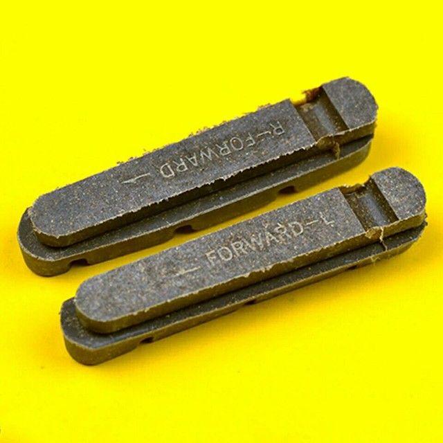 Refil sapata carbono ou alumínio 55mm - Foto 3