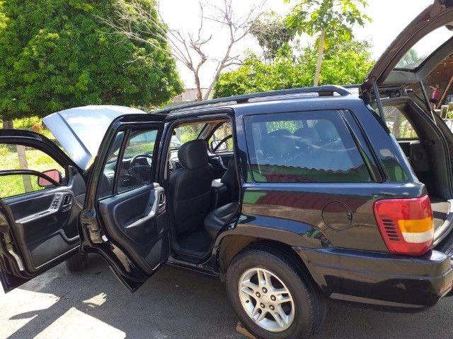 Vendo Jeep grand cherokee turbo laredo ,4x4 disiel - Foto 6