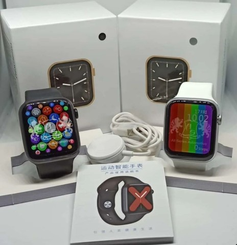 Smartwatch W46  cor preto *