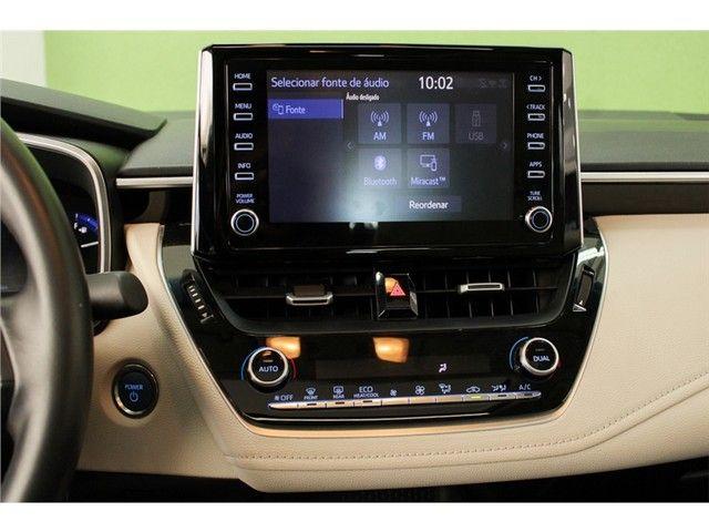 Toyota Corolla 2020 1.8 altis hybrid premium cvt - Foto 11