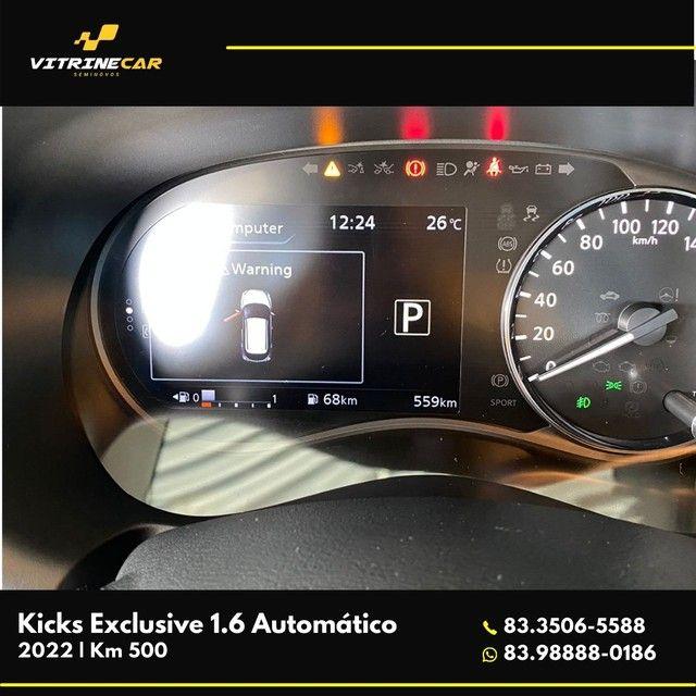 Kicks Exclusive 1.6 2022 - Foto 4