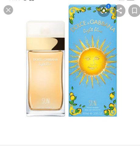 Oportunidade!!! Dolce & Gabbana Feminino light blue Sun 100ml EDT - Foto 6