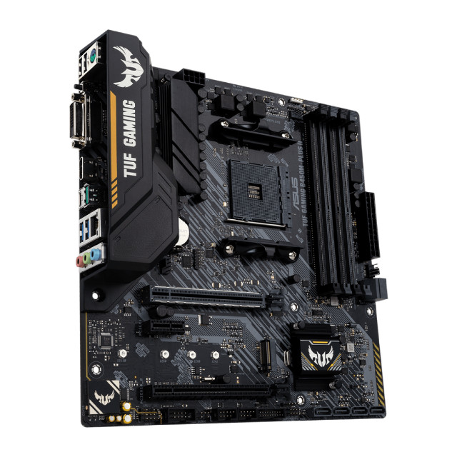 Placa Mãe Asus TUF B450M-Plus II Gaming AM4 - Loja Fgtec Informática - Foto 2