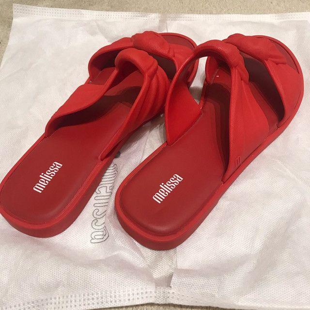 Melissa velvet vermelha - Foto 2