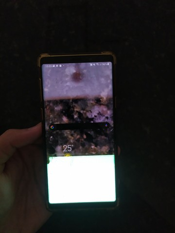 Samsung note 9 tela trincada - Foto 2