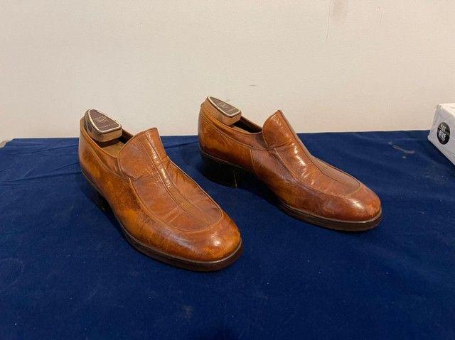 Sapato Florshine, USA, designer collection anos 70,