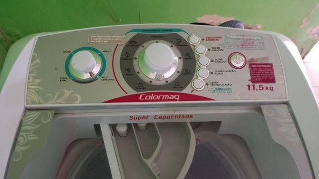 Maquina de lavar ,nunka foi usada tá  novinha . Venha logo conferir   - Foto 5
