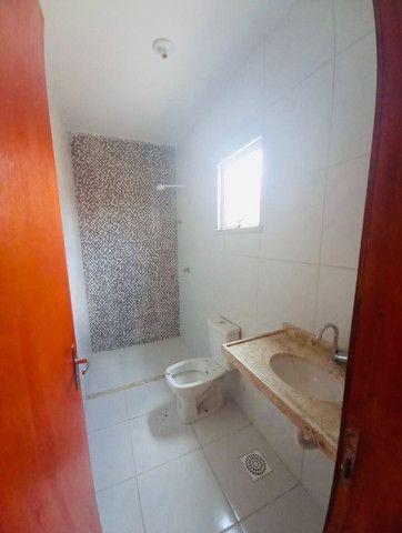 DP casa nova com 2 quartos 2 banheiros com doc. inclusa com entrada facilitada - Foto 8
