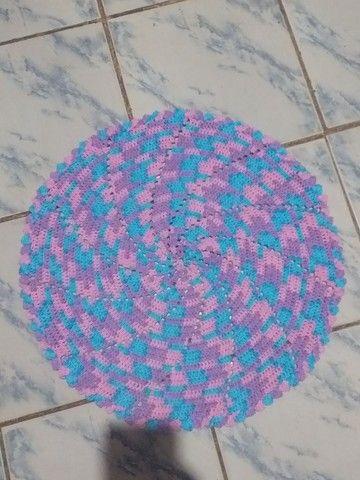 Tapetes de crochê  - Foto 4