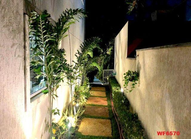Jardins Ibiza, casa duplex Porteira Fechada, 4 quartos, 6 vagas, piscina, Eusébio - Foto 12