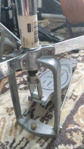 Máquina de Chimbal Pearl H790 (Seminovo) - Hi Hat Stand - Foto 4
